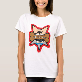 Biff Inu Bites a Bone T-Shirt