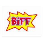 Biff Postcard