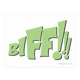BIFF!!! POSTCARD