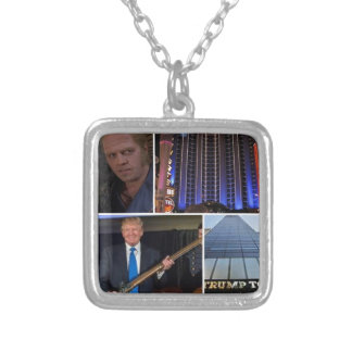 BIFF_TRUMP_anyquestions_gs_link Silver Plated Necklace