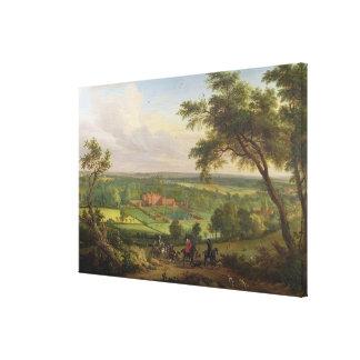 Bifrons Park, Patrixbourne, Kent, formerly attribu Canvas Print