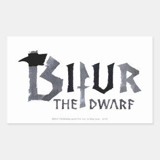 Bifur Name Rectangular Sticker
