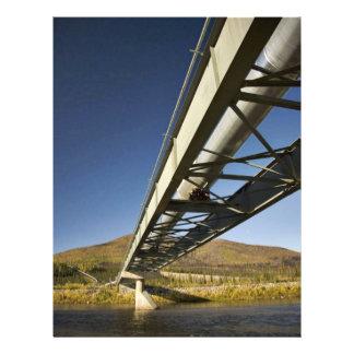 Bifurcación del sur Koyu de la travesía del oleodu Tarjetas Informativas