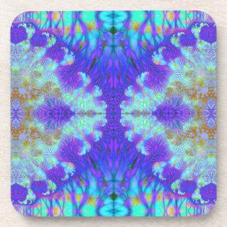 Bifurcation Multiplied V 6  Cork Coaster Set