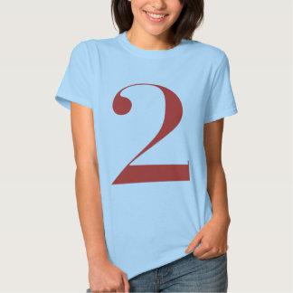 Big 2: Jeanne Moderno Lettres Tee Shirt