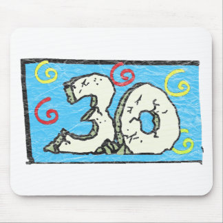 Big 3 0 - 30th Birthday Gifts Mouse Pad