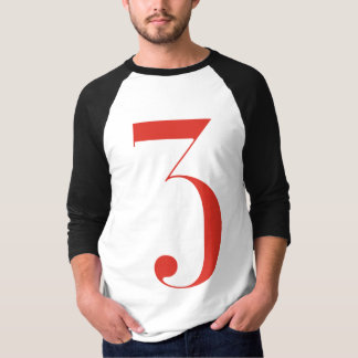 Big 3: Jeanne Moderno Lettres T-Shirt