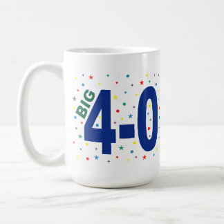 Big 4-0 Mug