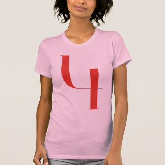 Big 4: Jeanne Moderno Lettres T-shirt
