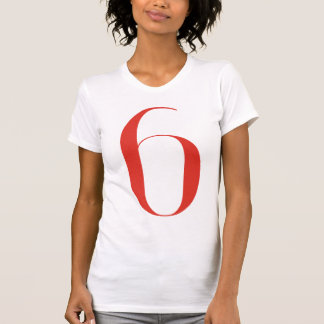 Big 6: Jeanne Moderno Lettres T-shirt