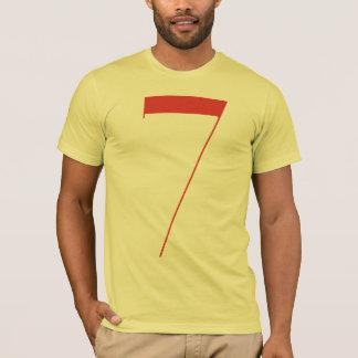 Big 7: Jeanne Moderno Lettres T-Shirt