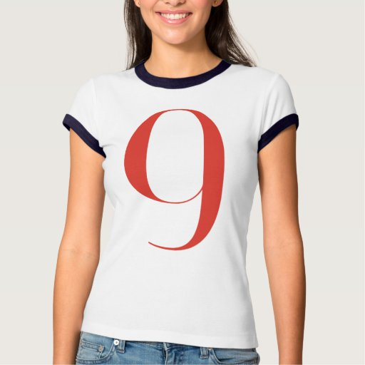 Big 9: Jeanne Moderno Lettres T-Shirt