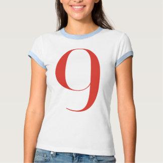 Big 9: Jeanne Moderno Lettres Tee Shirt