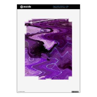 BIG ABSTRACT LEAF 15 iPad 2 SKINS