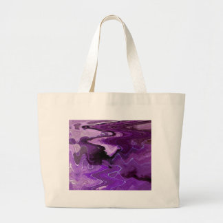 BIG ABSTRACT LEAF 15 LARGE TOTE BAG