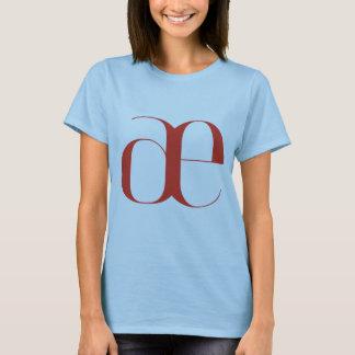 Big ae: Jeanne Moderno Lettres T-Shirt