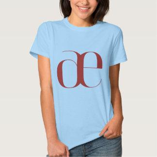 Big ae: Jeanne Moderno Lettres Tee Shirt