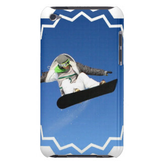 Big Air Snowboarding iTouch Case Barely There iPod Cover