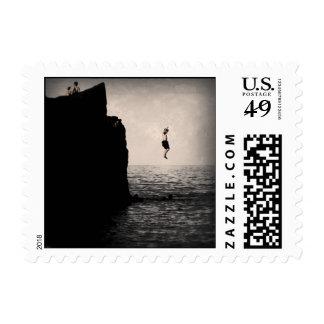 Big Air Splashdown Postage Stamps