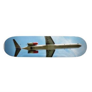 Big Airplane Take Off Skateboard Deck