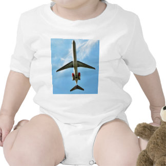 Big Airplane Take Off Baby Bodysuits