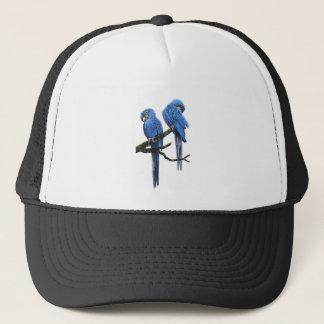 Big and blue Hyacinth Macaws Trucker Hat