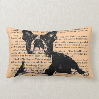 BIG AND BOLD BOSTON TERRIER PILLOW