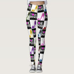 BIG AND BOLD SHOE LOVER LEGGINGS