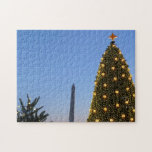 Big and Little Christmas Trees II Holiday in DC Jigsaw Puzzle
