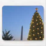 Big and Little Christmas Trees II Holiday in DC Mouse Pad