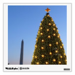 Big and Little Christmas Trees II Holiday in DC Wall Sticker