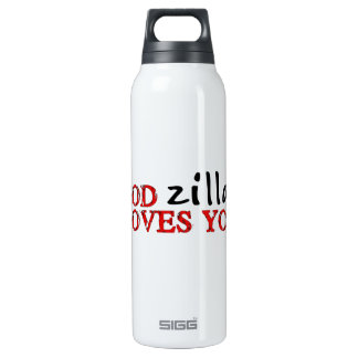 Big Ape Love 16 Oz Insulated SIGG Thermos Water Bottle