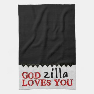 Big Ape Love Kitchen Towels