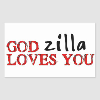 Big Ape Love Rectangle Stickers