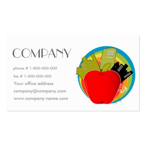 Big Apple Business Card