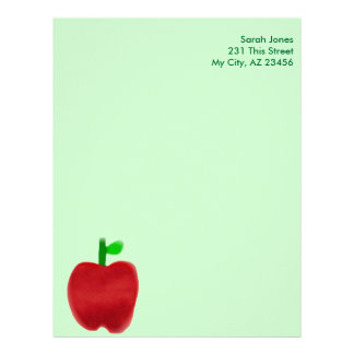 Big Apple Letterhead Design