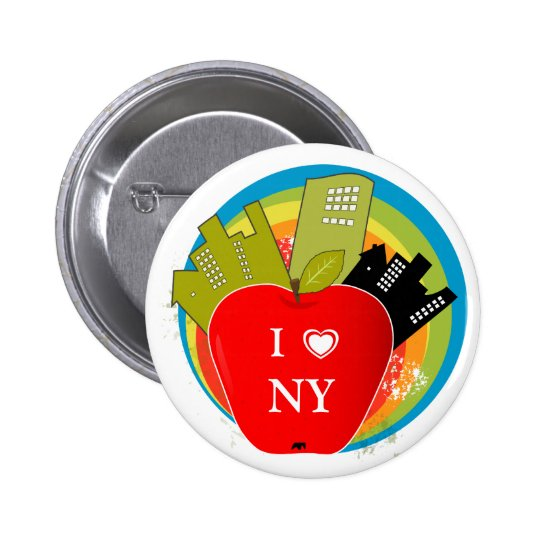 Big Apple - New York Button