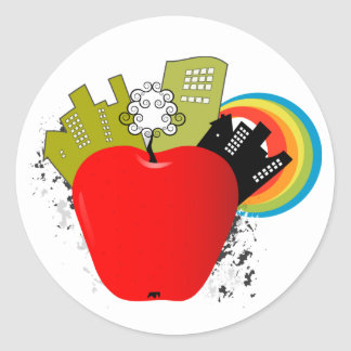 Big Apple - New York Classic Round Sticker