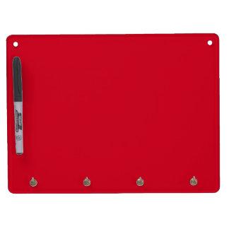Big Apple Red-Hot Red-Uptown Girl-Designer Wedding Dry Erase Board With Keychain Holder