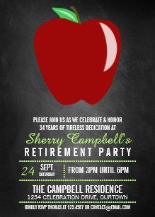funny teacher retirement invitations zazzle