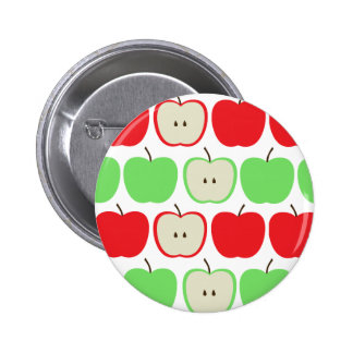 Big Apples Pattern Pinback Button