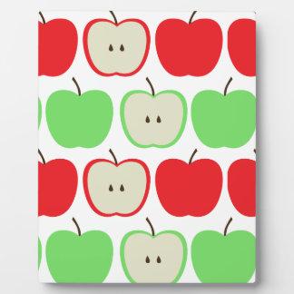 Big Apples Pattern Plaque