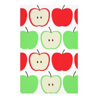 Big Apples Pattern Stationery