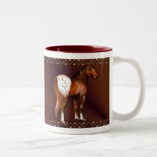 Big Appy Two-Tone Coffee Mug