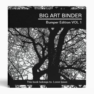 Big Art Binder 031 (1.5in) Tree Branches