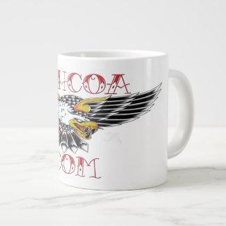 Big assed mug of coffee with 2.0