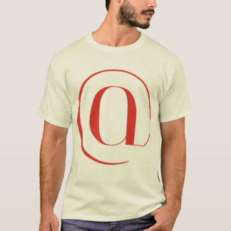 Big At: Jeanne Moderno Lettres T-Shirt