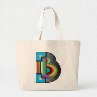 Big B Tote Bag