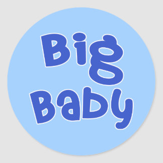 Big Baby Father's Day Products Sticker