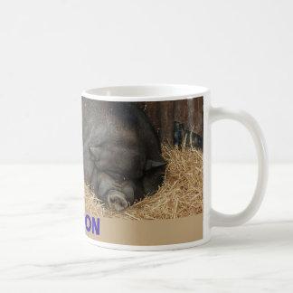 BIG BACON POT BELLIED PIGS COFFEE MUG
